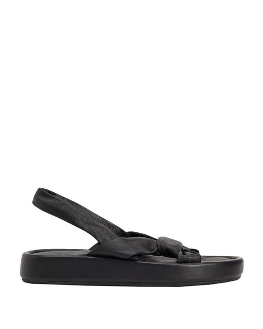 8 by YOOX Black Sandals