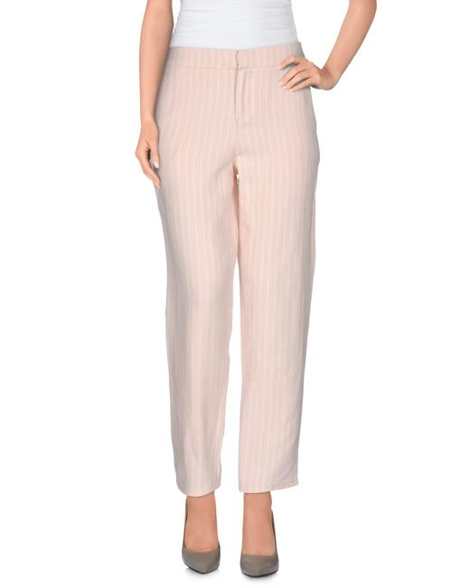 Joie | Pink Casual Pants | Lyst