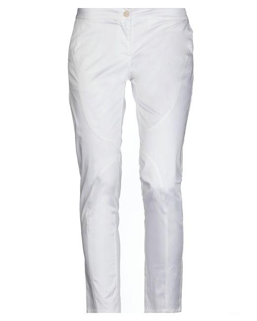Ermanno Scervino White Casual Trouser