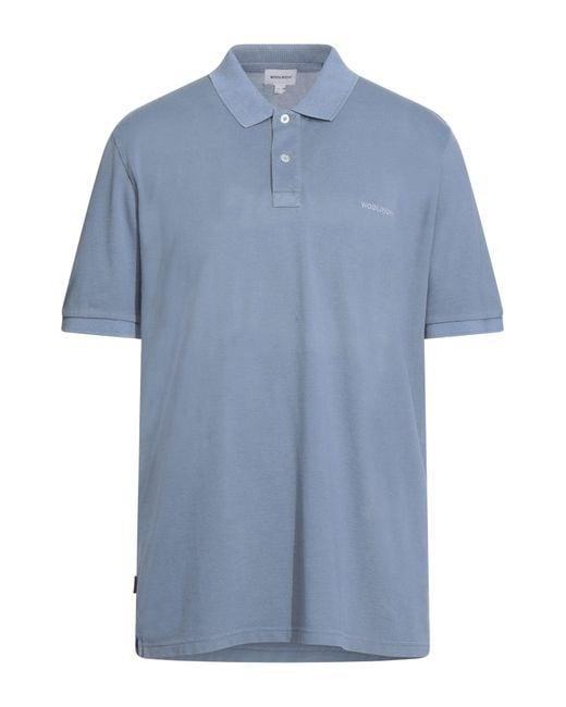 Polo di Woolrich in Blue da Uomo