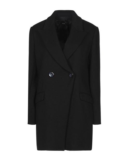 Manteau long Hanita en coloris Black