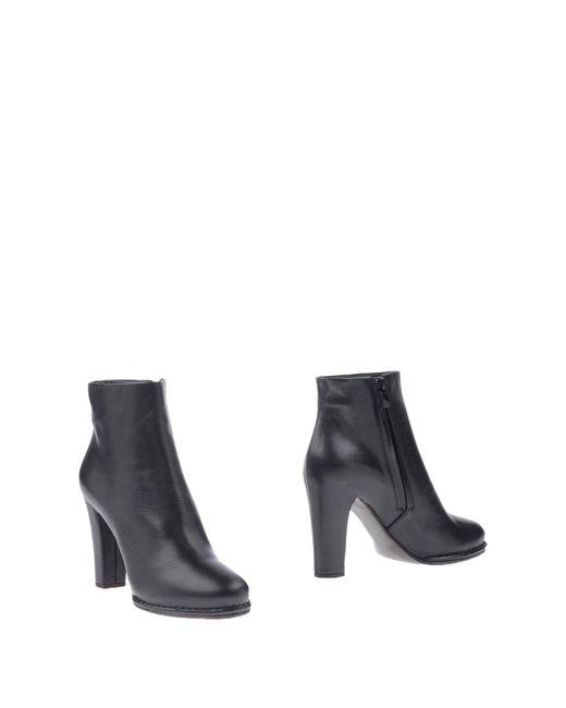 Roberto Del Carlo - Black Ankle Boots - Lyst