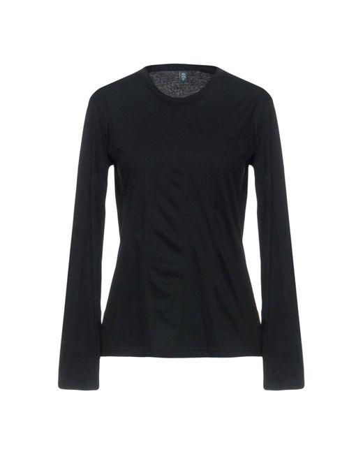 Eleventy - Black T-shirts - Lyst