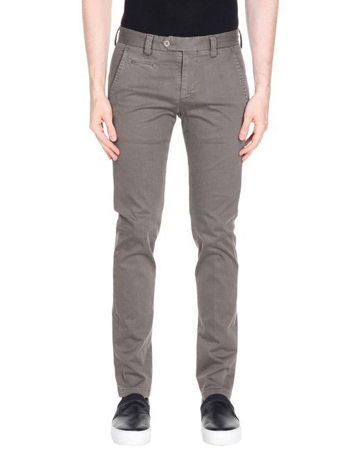 3f52f3cf011 Exibit - Gray Casual Pants for Men - Lyst ...
