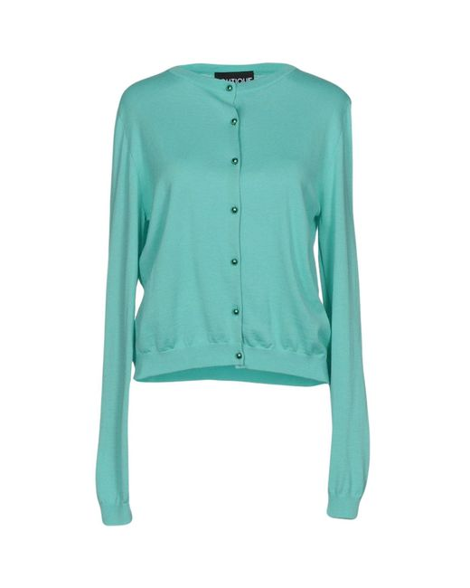 Boutique Moschino Green Cardigan
