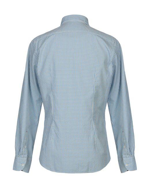 Chemise Glanshirt pour homme en coloris Blue