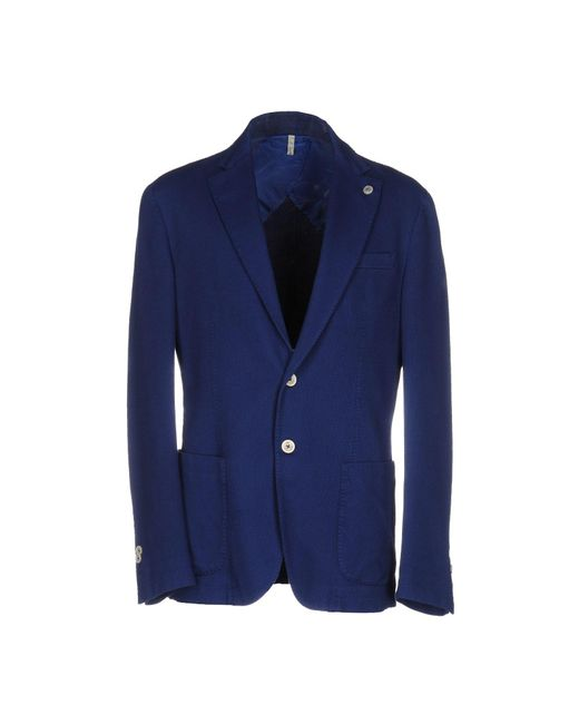 Domenico Tagliente Blue Blazer for men