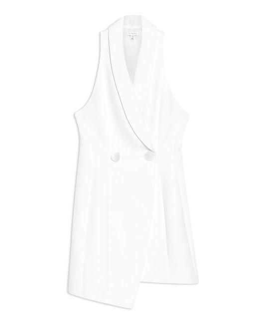TOPSHOP White Short Dress