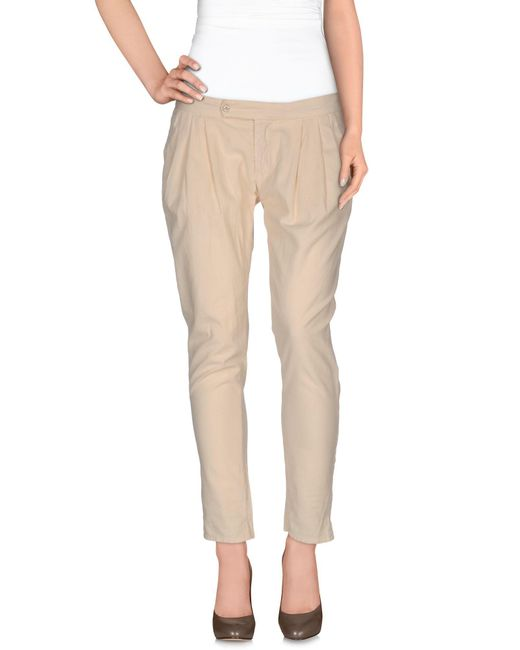 Manila Grace | White Casual Trouser | Lyst