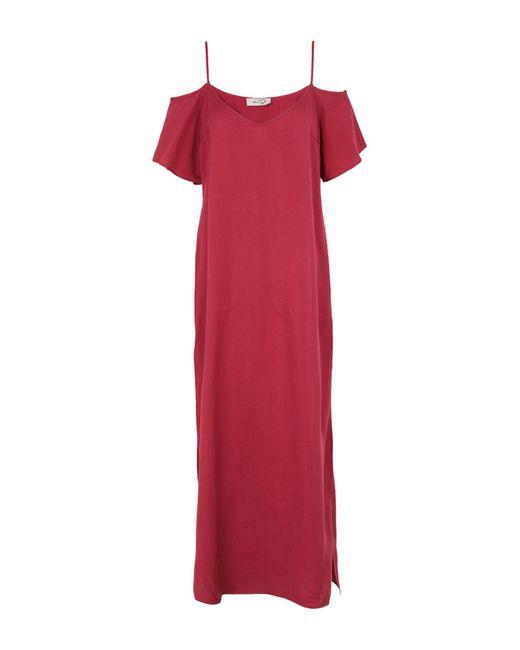Robe longue Ki6? Who Are You? en coloris Red