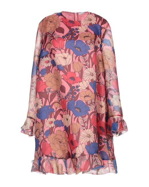 Vivetta Red Kurzes Kleid