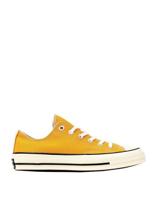 Converse Sneakers & Deportivas de mujer de color amarillo
