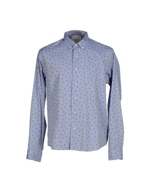 Bion - Blue Shirts for Men - Lyst