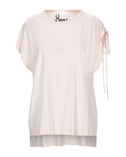 T-shirt di 8pm in Pink