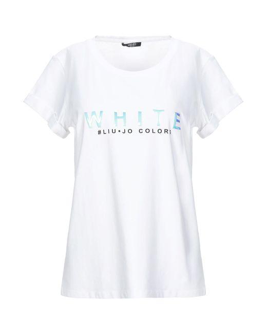 Liu Jo White T-shirt
