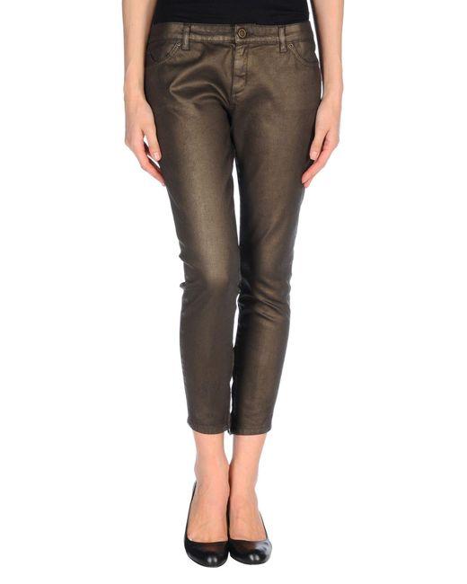 Superfine - Metallic Denim Pants - Lyst