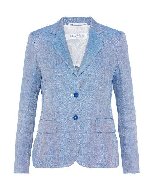 Veste Max Mara en coloris Blue