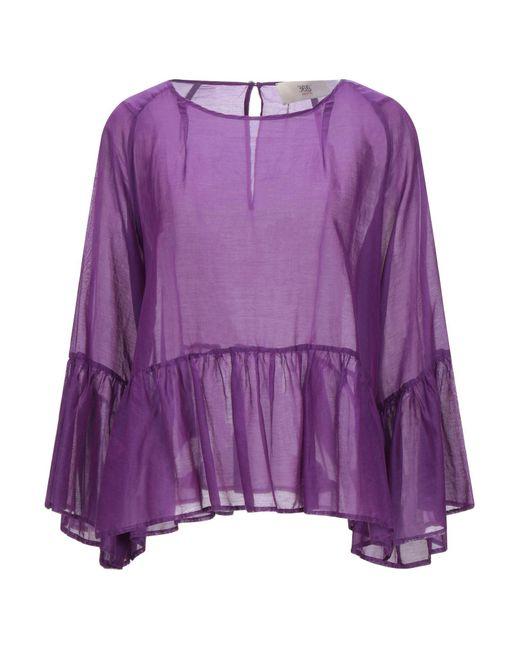 Blouse Jucca en coloris Purple