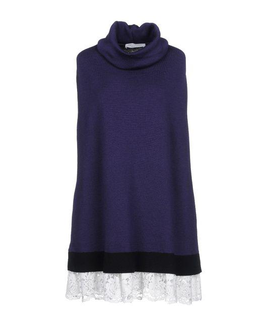 Philosophy Di Lorenzo Serafini - Purple Short Dress - Lyst