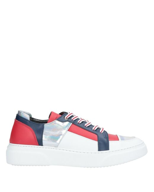 Gianfranco Lattanzi White Low Sneakers & Tennisschuhe