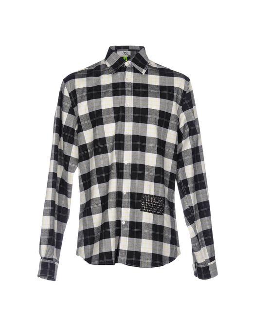 Macchia J - Black Shirt for Men - Lyst