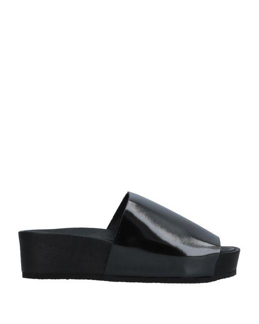 Peter Non - Black Sandals - Lyst