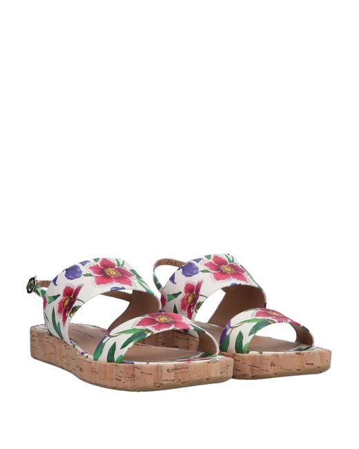 Ferragamo White Sandals