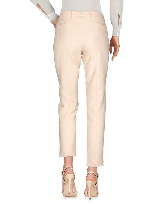 Pantalone di PT Torino in Natural