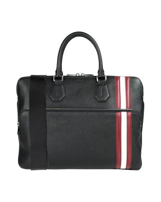 Bally Black Work Bags for men
