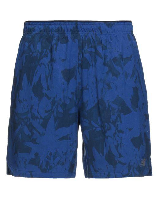 Bermuda New Balance pour homme en coloris Bleu - Lyst