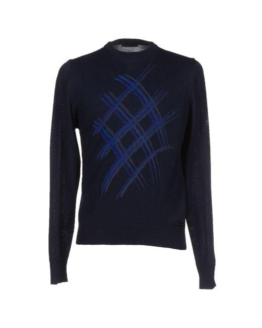 Alessandro Dell'acqua - Blue Sweater for Men - Lyst