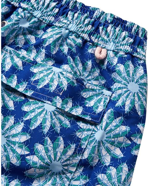 8798e9d60462c ... Pink House Mustique - Blue Swimming Trunks for Men - Lyst ...