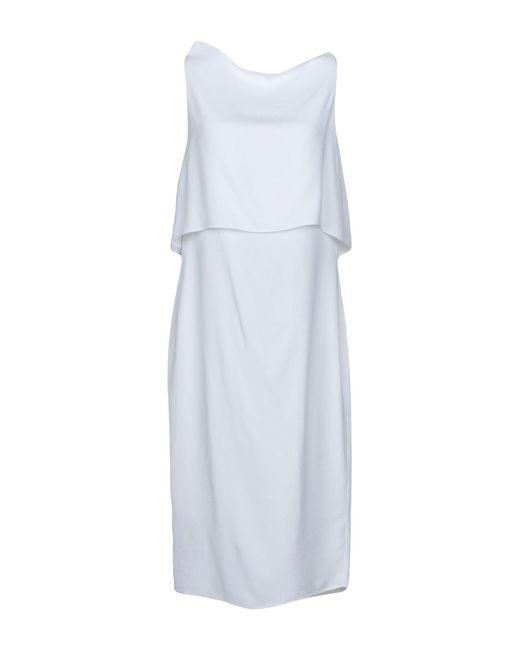 Maria Grachvogel - White Knee-length Dress - Lyst