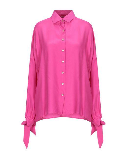 P.A.R.O.S.H. Pink Hemd