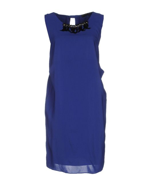 Liu Jo Blue Short Dress