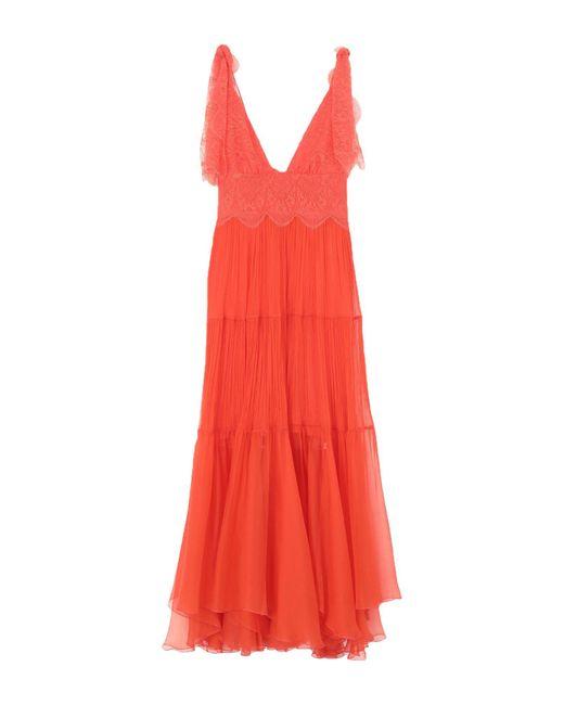 Vestito lungo di Maria Lucia Hohan in Orange