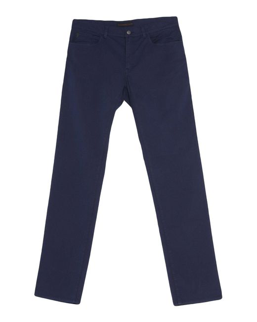 Trussardi Blue Casual Pants for men