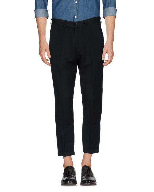 26.7 Twentysixseven - Black Casual Trouser for Men - Lyst