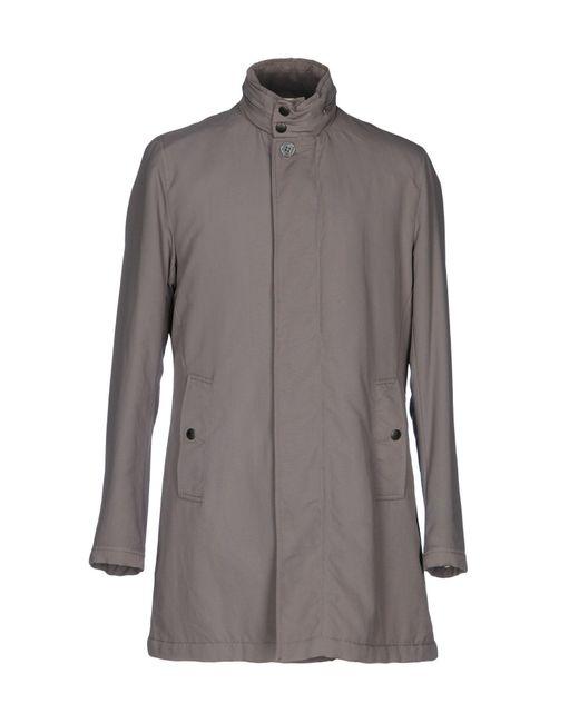 Ballantyne Gray Coat for men