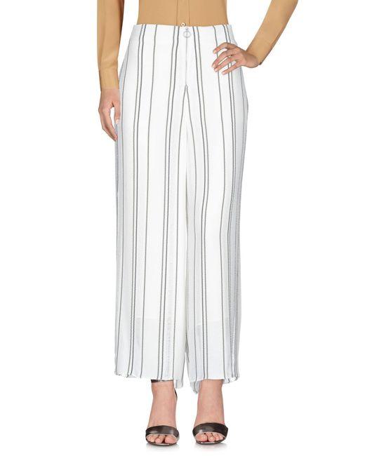 Pantalon Proenza Schouler en coloris White