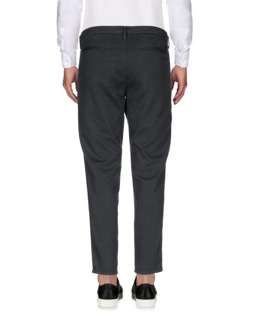 0/zero Construction Gray Casual Trouser for men