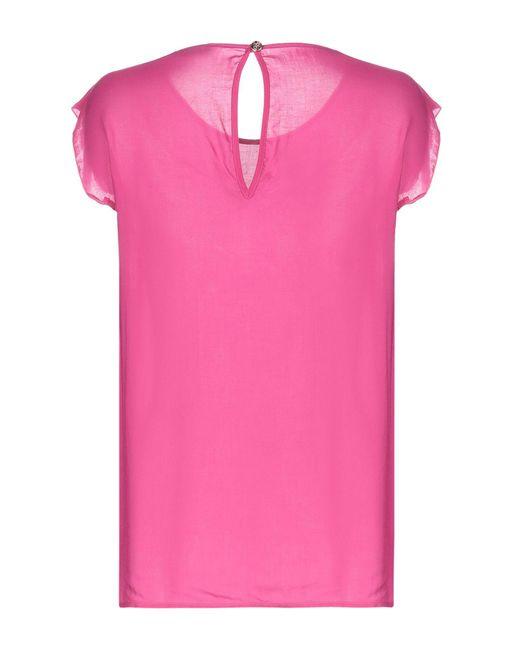 Top Versace Jeans de color Pink