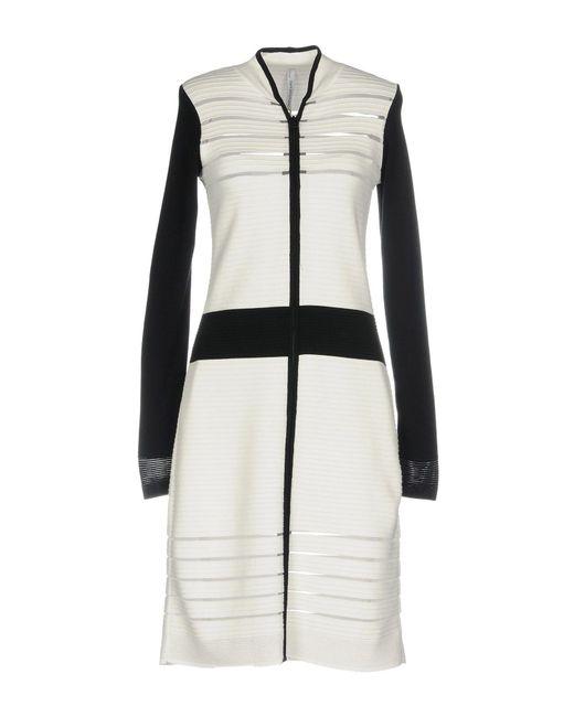Pianurastudio - White Short Dresses - Lyst