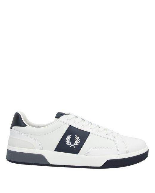 Fred Perry Low Sneakers & Tennisschuhe in White für Herren