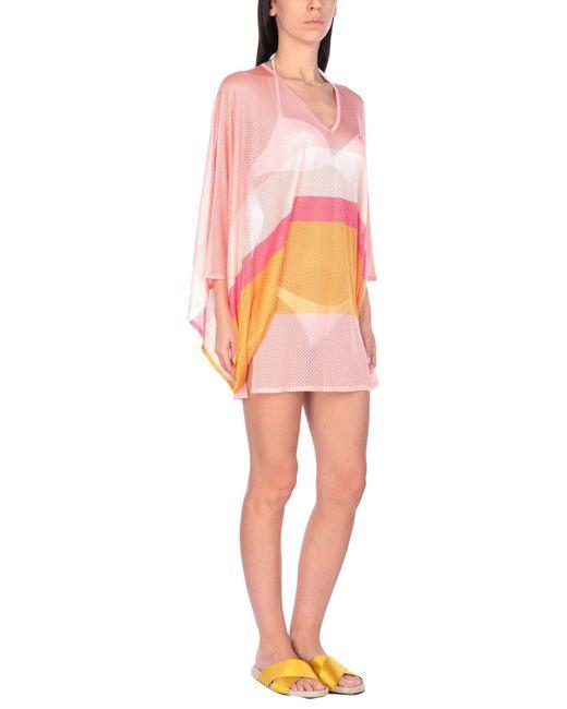 Vestido de playa Emilio Pucci de color Pink