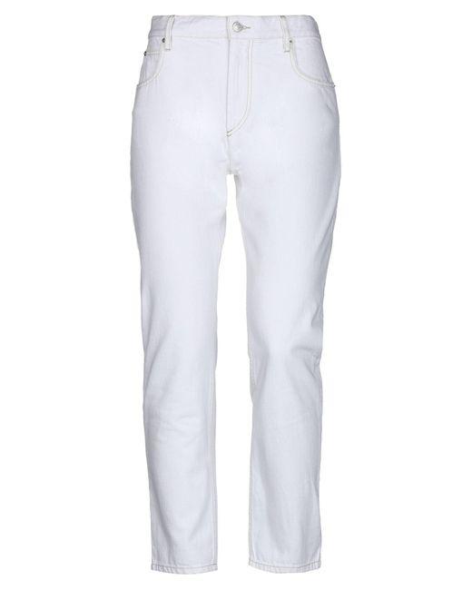 Pantalones vaqueros Étoile Isabel Marant de color White