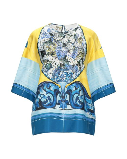 Dolce & Gabbana Blusa de mujer de color amarillo Hfvag