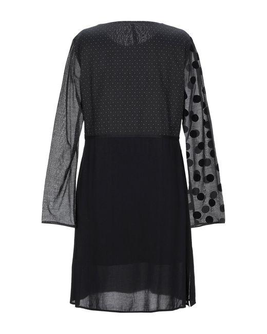 Vestito corto di Manila Grace in Black