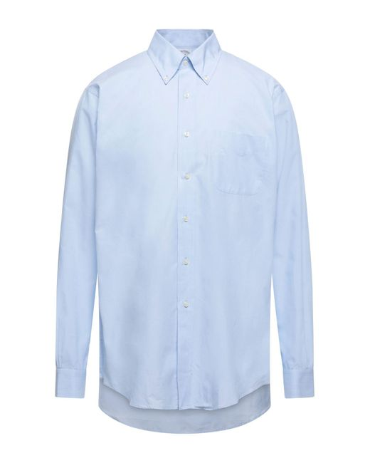 Camicia di Brooks Brothers in Blue da Uomo