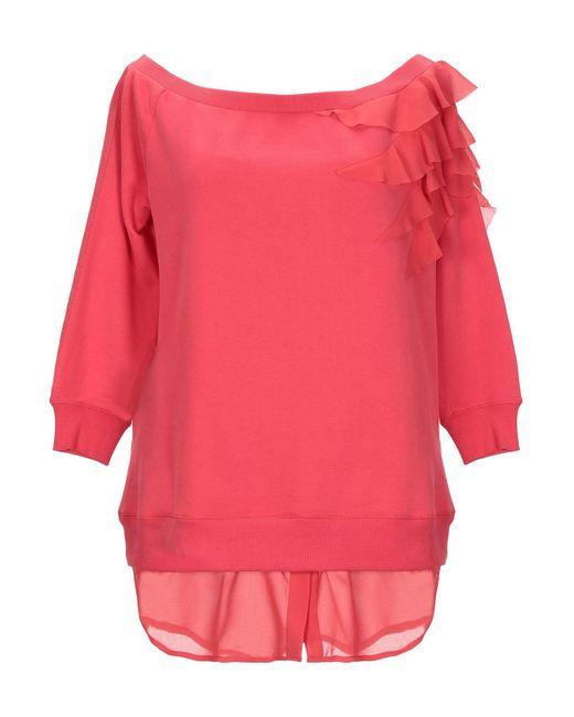 Patrizia Pepe Pink Sweatshirt